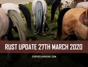 RUST Update 27th March 2020