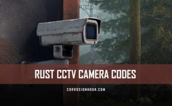 RUST CCTV Camera Codes