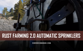 RUST Farming 2.0 Automatic Sprinklers