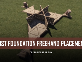 RUST Foundation Freehand Placement