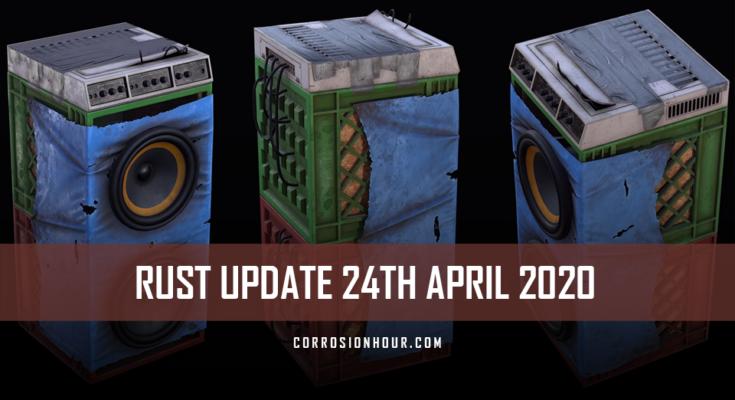RUST Update 14th April 2020