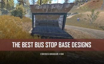 RUST Best Bus Stop Base Designs