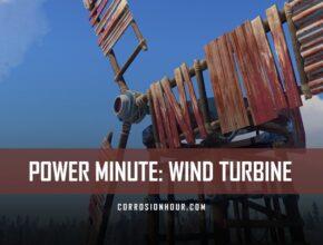 RUST Power Minute: Wind Turbine