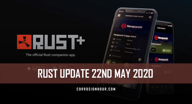 Rust Update May 22nd 2020