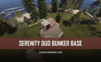 RUST Serenity Duo Bunker Base Design