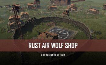 RUST Air Wolf Shop