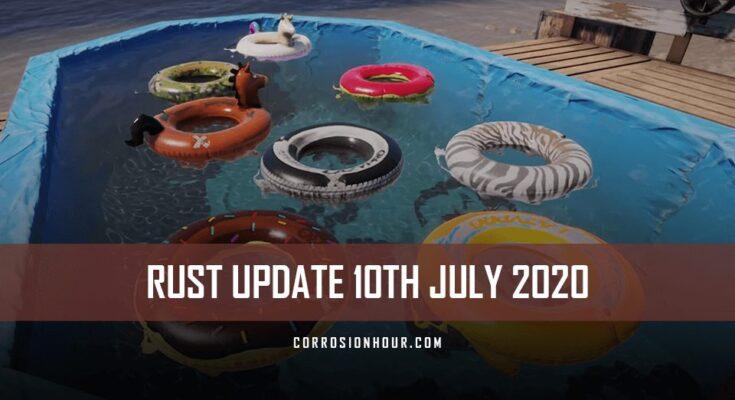 rust update 10th of july