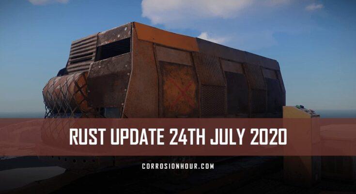rust update 24th july 2020