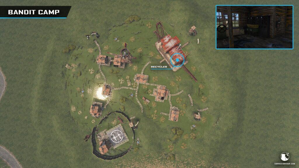 Présentation de RUST Bandit Camp