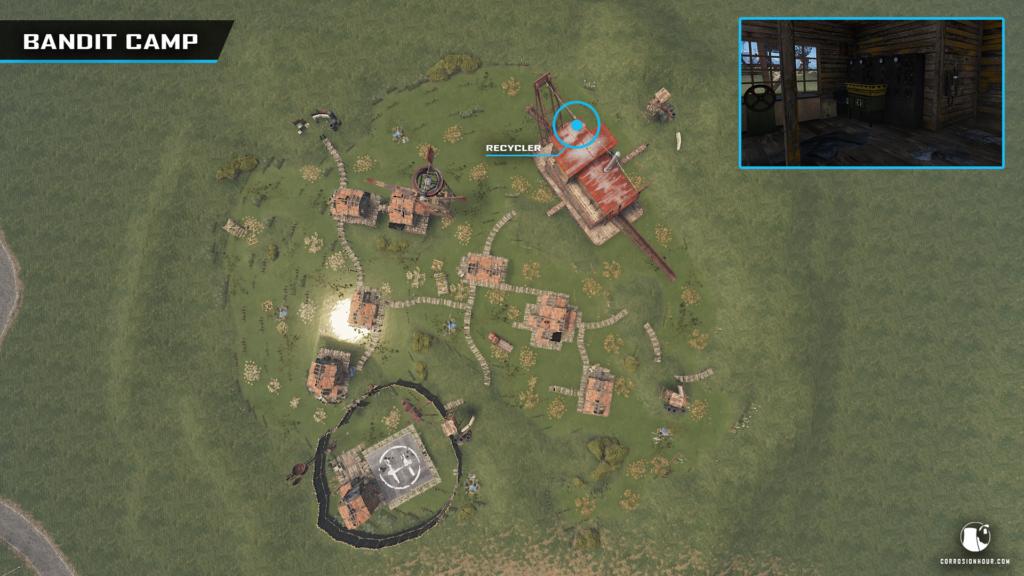 RUST Bandit Camp Overview