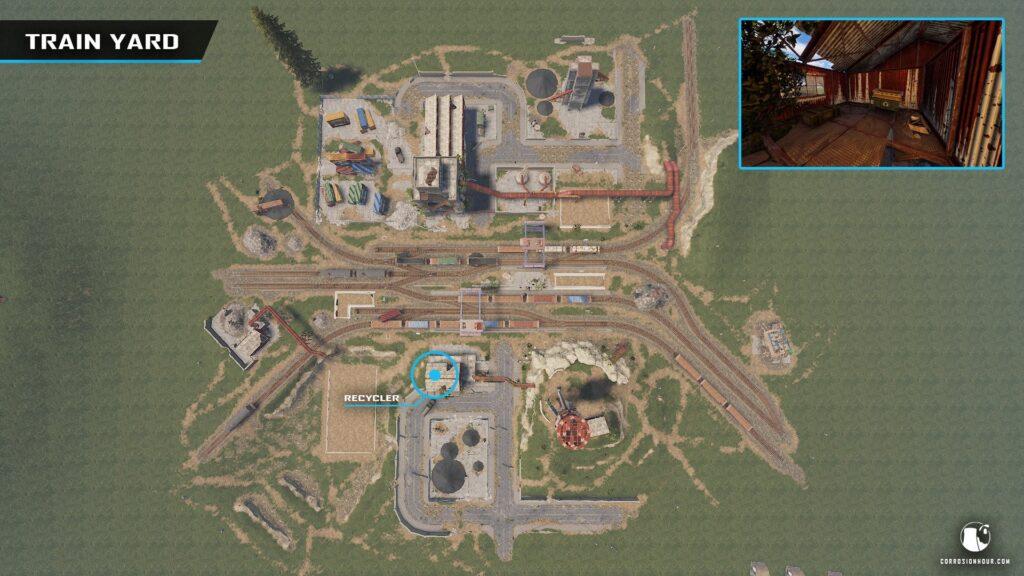 RUST Train Yard Monument