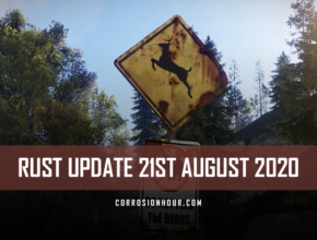 RUST Update 21st August 2020