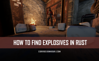 How to Find Explosives in RUST
