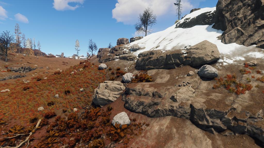 Mining stone ore nodes