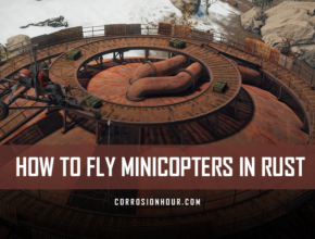 How to Fly Minicopters in RUST