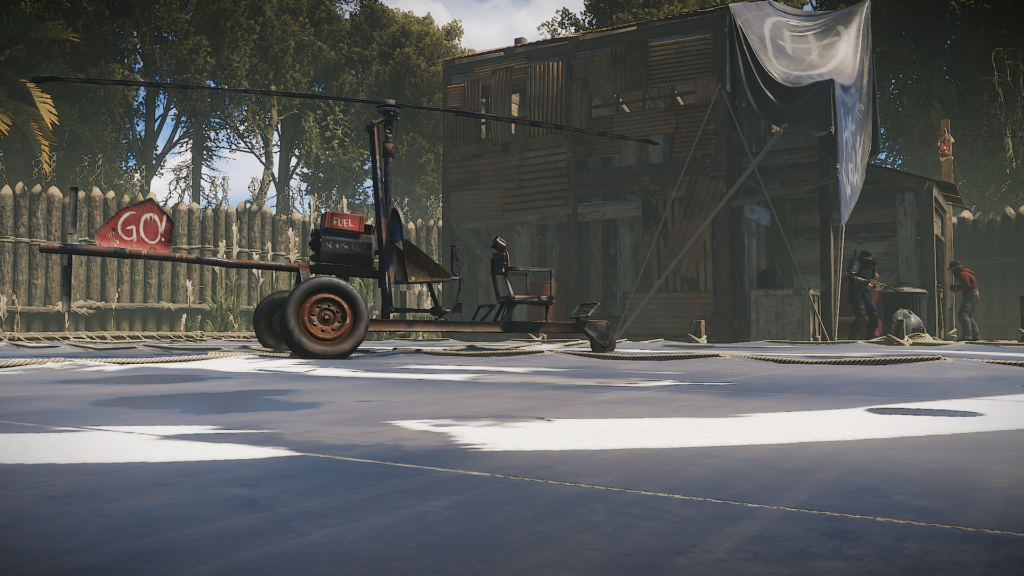The RUST Air Wolf Shop