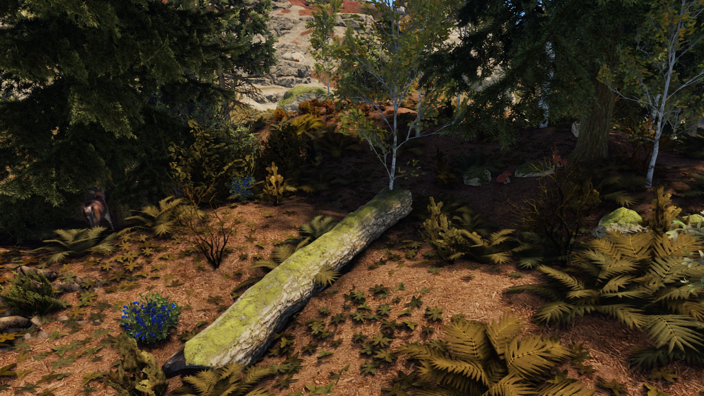 Foraging Food in RUST Wilderness