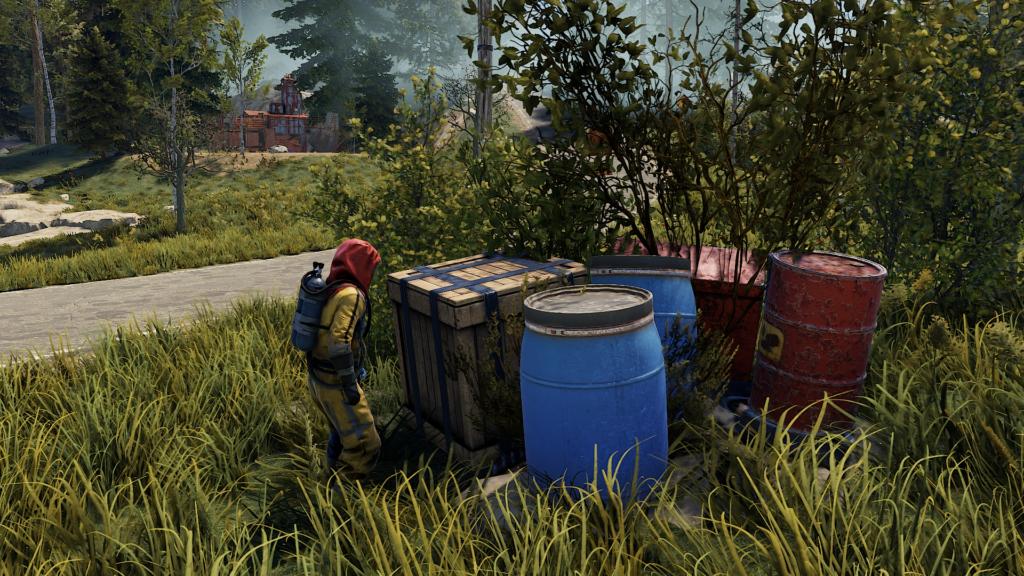 Get Scrap from Crates and Barrels in RUST