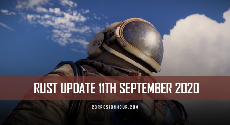 rust update 11th september 2020