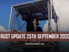 RUST Update 25th September 2020