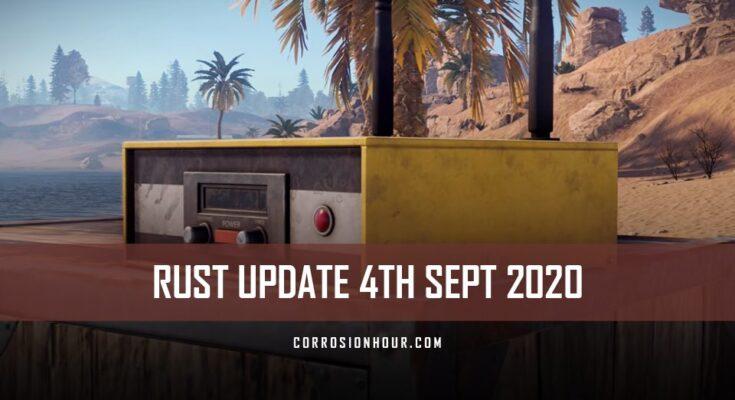 rust update for 4th september 2020