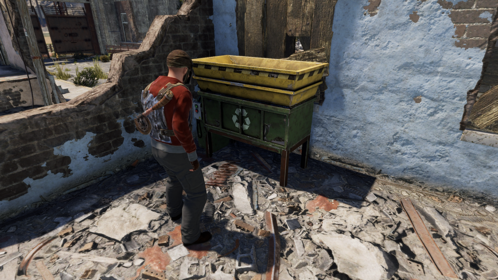 Recycle Components for Wood in RUST