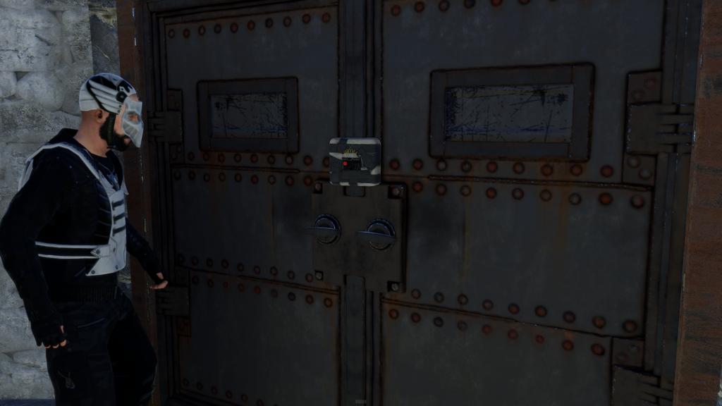 Remove Doors in RUST Using C4 Explosives