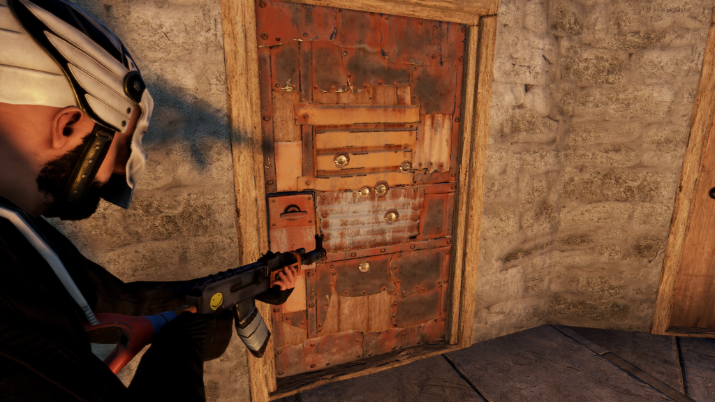 Removing Doors in RUST Using Explosive Ammo