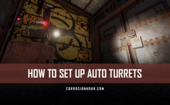 How to Set Up Auto Turrets in RUST