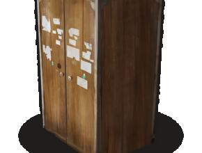 image of the rust tool cupboard