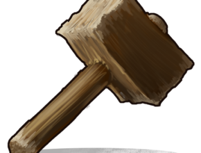 image of the rust upgrade hammer