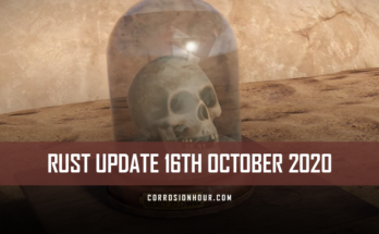 RUST Update 16th October 2020