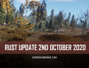 RUST Update 2nd October 2020
