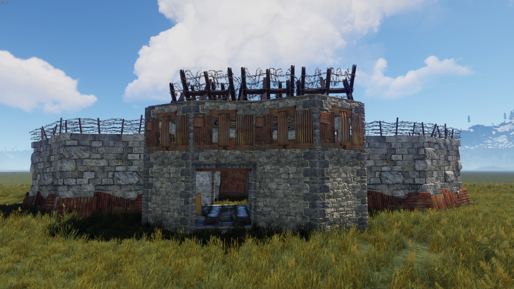 Different Types of Buildings in RUST