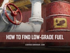Find Low-Grade Fuel in RUST