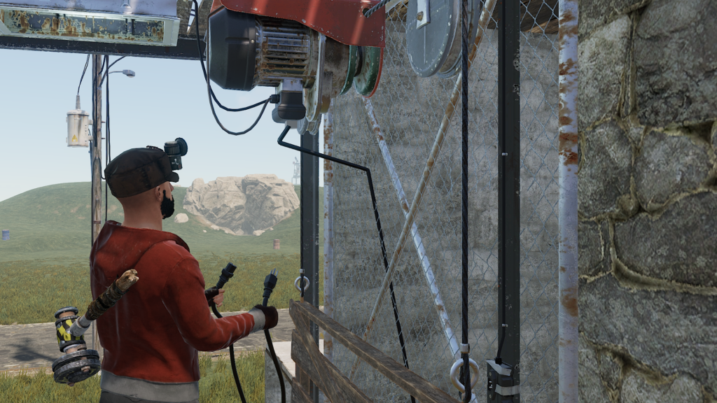 Powering the RUST elevator