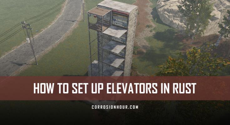 How to Set Up Elevators in RUST