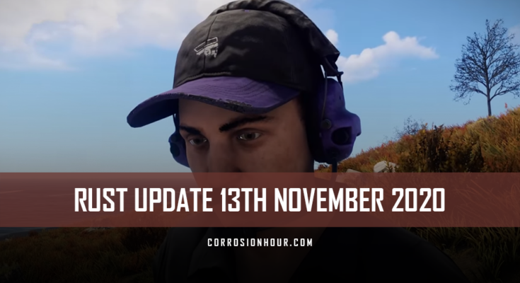 RUST Update 13th November 2020