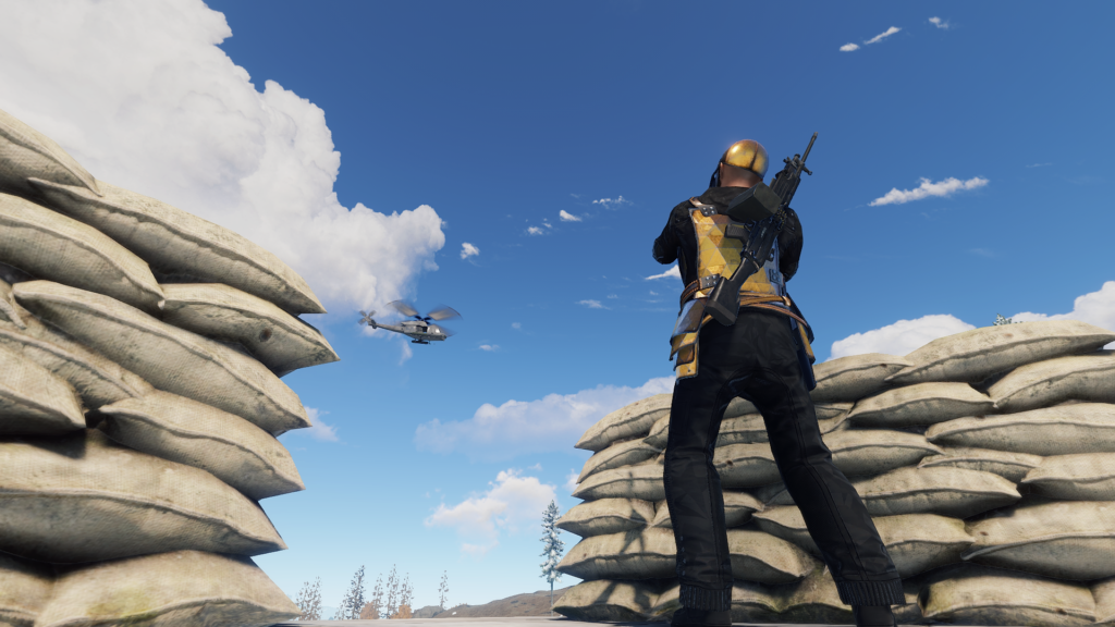 The Patrol Helicopter Attacks Players Wearing 2+ Items