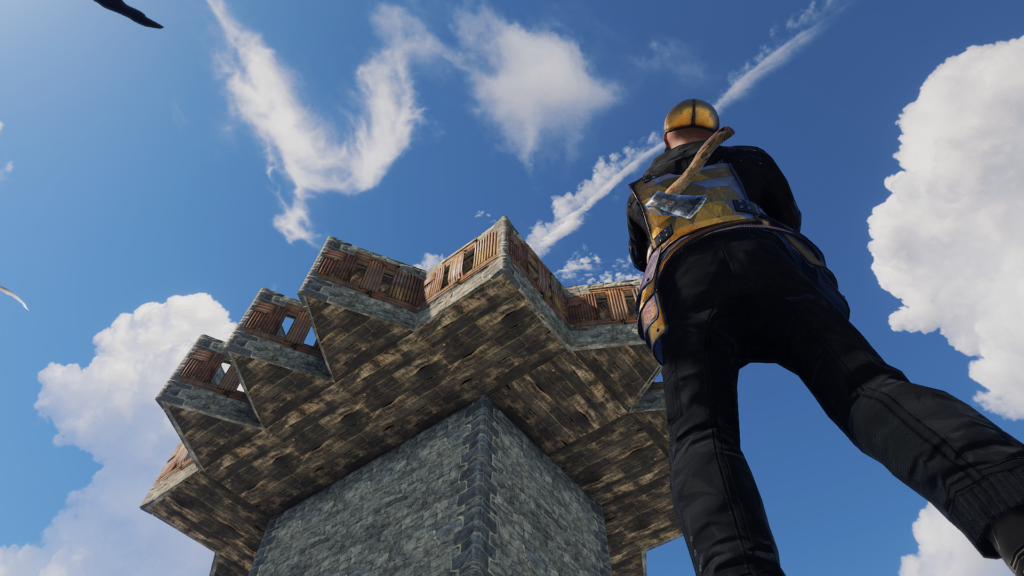 Use a Special RUST Heli Tower Build
