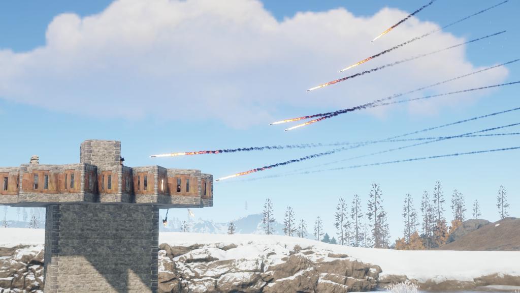 Patrol Helicopter Rockets can Pierce Windows