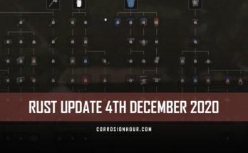 RUST Update 4th December 2020