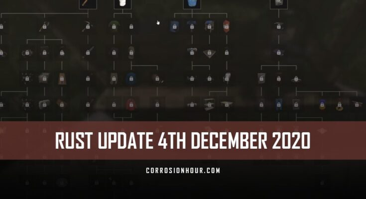 RUST Update 4th December 2020