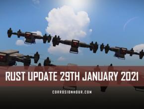 rust update 29th january 2021