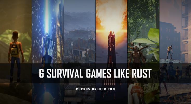 6 Survival Games Like Rust