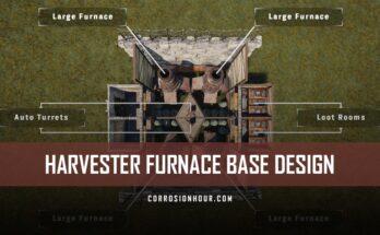 Harvester RUST Furnace Base Design