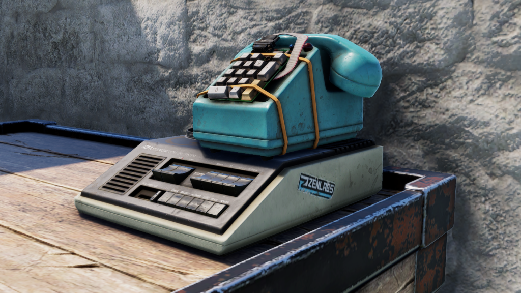 Phones can be placed on Boxes, Floors, and Benches
