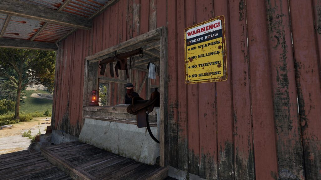 RUST Stable Master Shop Front