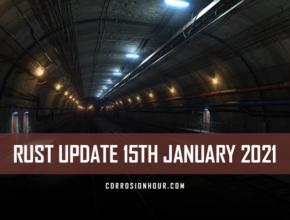 RUST Update 15th January 2021