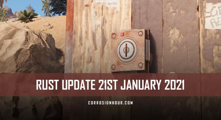 rust update 21st january 2021